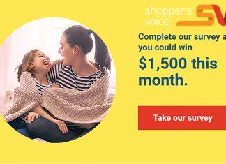Shopper's-Voice-Survey-$1500-Prize