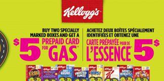 Kellogg's-5-Prepaid-Gas-Card