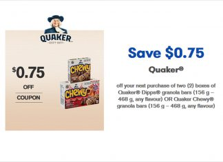 Quaker-Chewy-Granola-Bars-Coupons