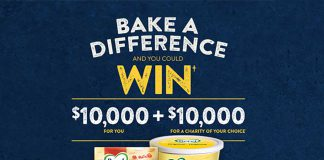 Bake-a-Difference-Win-$10,000-with-Becel-Contest